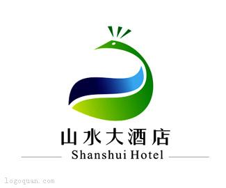 山水大酒店LOGO设计