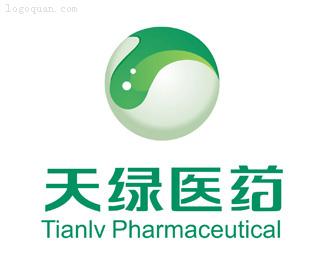 成都天绿医药品牌logo设计