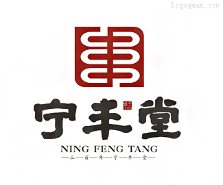 宁丰堂大药房logo
