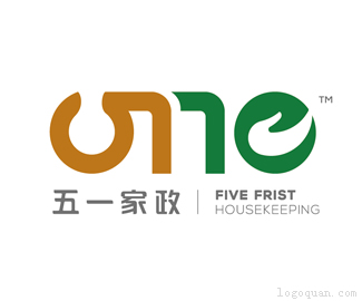 宁波五一家政服务公司LOGO
