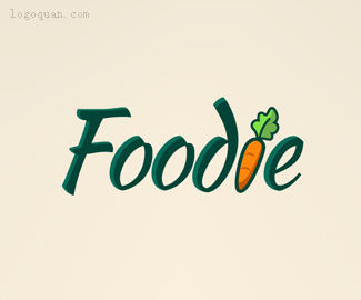 Foodie字体设计