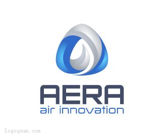 AERA空气能品牌logo